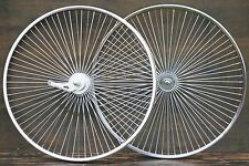 "26"" 72Spoke Cruiser Bike WHEELS Sram 2Speed Hub Vintage Schwinn Lowrider Bicycle"