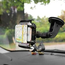 Adjustable Rotate Car Windscreen Holder Dashboard Mount Phone Stand Black