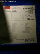 Sony Service Manual SDM N50PS  (#2637)