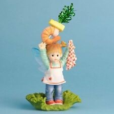 My Little Kitchen Fairies Shrimp Appetizer Fairie NIB #4030648