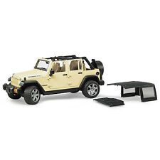 Bruder Toys Jeep Wrangler Unlimited Rubicon with Detachable Roof | 02525