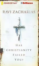 Has Christianity Failed You? by Ravi Zacharias (2016, CD, Unabridged)
