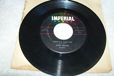 45 RICKY NELSON UST A LITTLE TOO MUCH/SWEETER THAN YOU ON IMPERIAL RECORDS