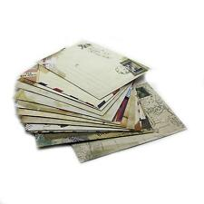 12pcs New Vintage Mini Envelope Stationery Family Lover Postcard Holder Gift Set