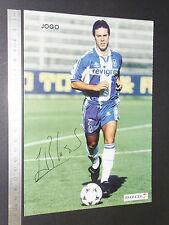 CARTE OS CRAQUES D'O JOGO PORTUGAL 1996-1997 FOOTBALL FUTEBOL COSTA FC PORTO