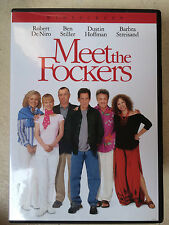 Robert De Niro Ben Stiller MEET THE FOCKERS ~ 2004 Comedy | US R1 DVD