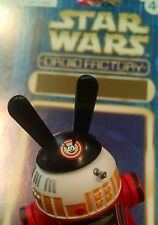 Star Wars DROID FACTORY Action Figure Accessory, Oswald Rabbit Hat 3.75in & Map
