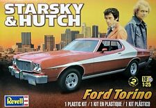 Revell 1/25 Starsky & Hutch Ford Torino Plastic Model Kit 85-4023 854023  NEW!!