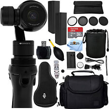 DJI Osmo Handheld 4K Camera and 3-Axis Gimbal 12PC Accessory Kit!! PRO BUNDLE!!