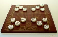 CHINESE 'FIGHTING ANIMAL CHESS' DOUSHOUQI, JUNGLE GAME SET (DOU SHOU QI) (803)