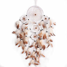 New Handmade Dream Catcher With Feathers Wall Hanging Decoration Ornament