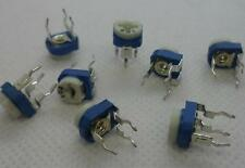 20pcs 50K ohm Mark 503 0.1Watt White-Blue adjustable  Potentiometer#1368