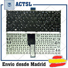 TECLADO ESPAÑOL para PORTATIL ACER Travelmate B1 Negro (Frosted Keycap,For Win8)
