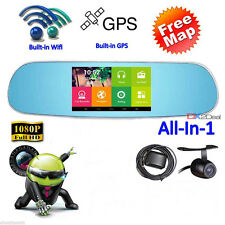 5' HD 1080P Android WIFI Car DVR Vehicle Camera Video Recorder Dash Cam Dual Cam