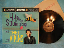 Hum and Strum Along with Chet Atkins, RCA Victor, LSP-2025, 1961, Living Stereo
