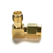 Hot Adapter 90°RP.SMA male jack to RP.SMA female plug connector right angle MW