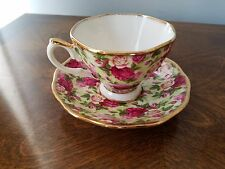 Royal Albert Tea  Cup & Saucer Old Country Roses Chintz Collection