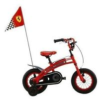 "Ferrari 12"" Race Bicycle CX-10 12""  3-5 yr Kids -  HiTech Alum Frame Bike"