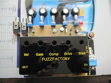 DIY guitar kit effect pedal kit fuzz factory bad sound DIY kit christmas