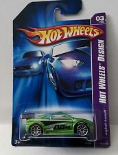 Hot Wheels 2007 Hot Wheels Design 047 Asphalt Assault Green 10sp