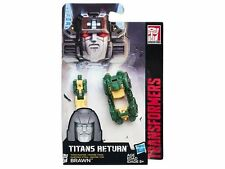 (P) TRANSFORMERS GENERATIONS TITANS RETURN MASTER CLASS BRAWN ACTION FIGURE