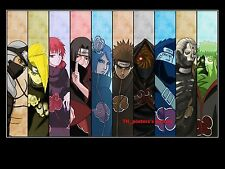 "Naruto Shippuden Japan Anime Gaara Art Silk Wall  Poster 12x18"" NRT23"