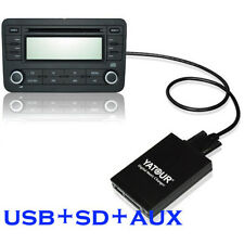 USB SD AUX CD MP3 Adapter Changers for Nissan Qashqai Xtrail Almera Infiniti