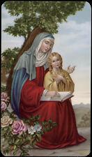 """santino-holy card""""""""ediz. NB serie LIPPI  n.43 S.ANNA"""
