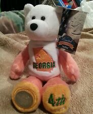 1999 GEORGIA STATE BRILLIANT UNCIRCULATED QUARTER COIN BEAR, LIMITED TREASURES!!