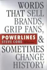Bloomberg: Powerlines : Words That Sell Brands, Grip Fans, and Sometimes...