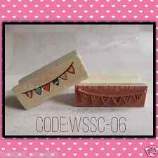 Stamp/Wooden Stamp/Wood Mounted Rubber Stamp [Code: WSSC-06]