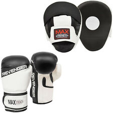 Boxing Hook and Jab Curved Focus Pad Sets Punch Sparring Gloves MMA Training Bag