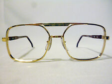 Tart Optical Regency Vintage Double Bridge Eyeglass Frame Gold/Brown 55-20