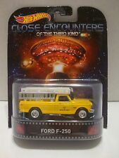 Hot Wheels Retro Entertainment Close Encounters Ford F-250 Pickup 1:64 C34-35