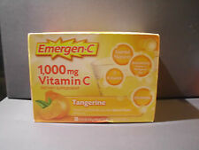 Emergen-C 1,000 mg Vitamin C / 30 packets /Tangerine- EXP: 09/16