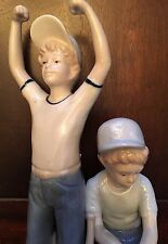 PAUL SEBASTIAN 1989 BASEBALL PORCELAIN BOYS FIGURINE