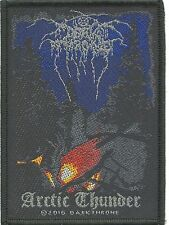 DARK THRONE - Artic Thunder - WOVEN SEW ON PATCH - free shipping