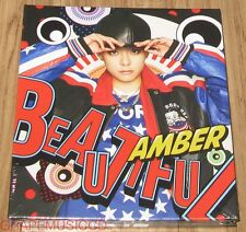 f(x) FX AMBER Beautiful 1ST MINI ALBUM CD + PHOTOCARD + POSTER IN TUBE CASE