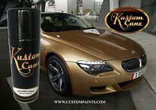 AEROSOL CAN OF BMW ONTARIO GOLD. MOTORCYCLE, AUTOMOTIVE, HOT ROD, GUITAR, PPG