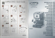 MANUAL INSTRUCTION - MANUALE - DE LONGHI EC 152 CD - ALL LANGUAGES ALSO ARAB