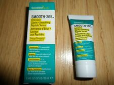 GOODSKIN LABS SMOOTH-365 INTENSIVE CLARITY + SMOOTHING PEPTIDE SERUM NIB 15ML