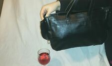 Designer Leather Style Tote Bag Hidden Drinks Compartment Handbag Shoulder Bag