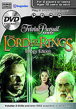 Trivial Pursuit Interactive DVD Game - Lord of the Rings Trilogy Edition 2006