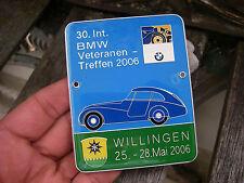 BMW DEUTSCHLAND - 30th. Meeting WILLINGEN 2006 - Veteranen Club Badge