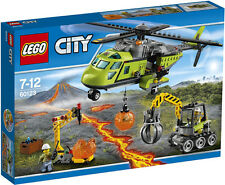 LEGO City 60123 - Volcano Supply Helicopter