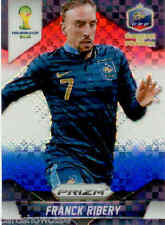 2014 World Cup Prizm Red White Blue Plaid Parallel No.81 F. RIBERY (FRANCE)