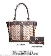 Wholesale Lot - 2 Designer Handbag Wallet Sets - Women's Vintage Purse w Clutch