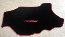 Kofferraumteppich Autoteppich für Mazda MX 5 NB roadster schwarz rot 1teilig Neu