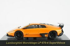 KYOSHO 1:64 - LAMBORGHINI COLLECTION 3 MURCIELAGO LP 670-4 SUPERVELOCE ORANGE