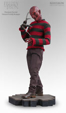 SIDESHOW EXCLUSIVE DEMON FREDDY KRUEGER VS JASON PREMIUM FORMAT FIGURE STATUE